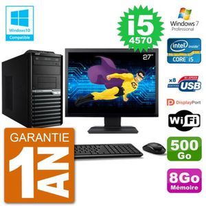 UNITÉ CENTRALE + ÉCRAN PC Acer Veriton M4630G MT Ecran 27
