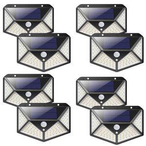 LAMPE DE JARDIN  Juce® 118 LED Lampe Solaire Extérieur Etanche Sola
