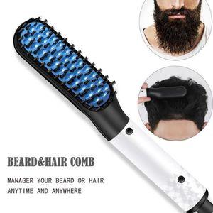 BROSSE SOUFFLANTE CODR Peigne barbe lissante et chauffante céramique