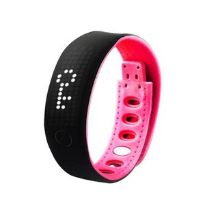 BRACELET D'ACTIVITÉ Intelligent Bracelet Wristband Bluetooth Fitness T
