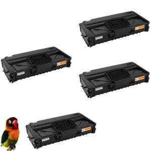TONER pack 4 toner compatibles pour Ricoh SP200 SP201 SP