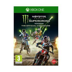 JEU XBOX ONE Jeu Xbox One BIGBEN Monster Energy Super