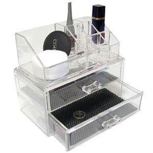 PALETTE DE MAQUILLAGE  Organisateur pour maquillage en acrylique, avec...
