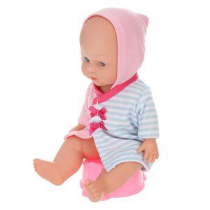 POUPON LOKO Bébé 30cm dans son Bain