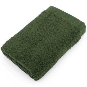 SERVIETTES DE BAIN Serviette de toilette 50x100 cm PURE Vert Kaki ...