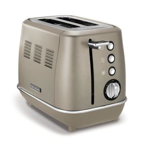GRILLE-PAIN - TOASTER Grille-pains 2 fentes 850w platinium - M224403EE -