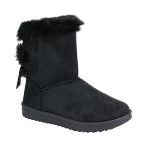 BOTTE By Shoes - Botte Fourrée Style Daim - Femme