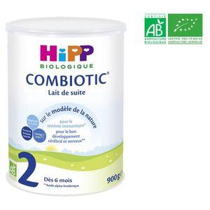 LAIT BÉBÉ HIPP BIOLOGIQUE Combiotic Lait en poudre 2ème âge