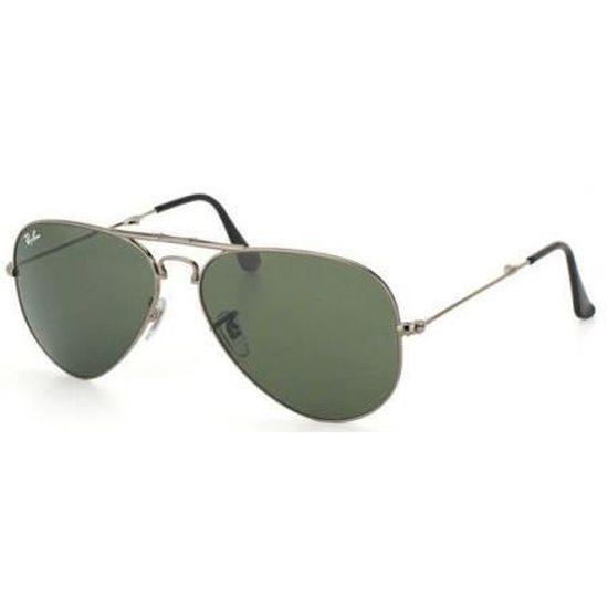 Lunettes de Soleil rb3479 Gunmetal - Achat   Vente lunettes de soleil Homme  - Soldes  dès le 9 janvier ! Cdiscount 0d5ac00b7b2d