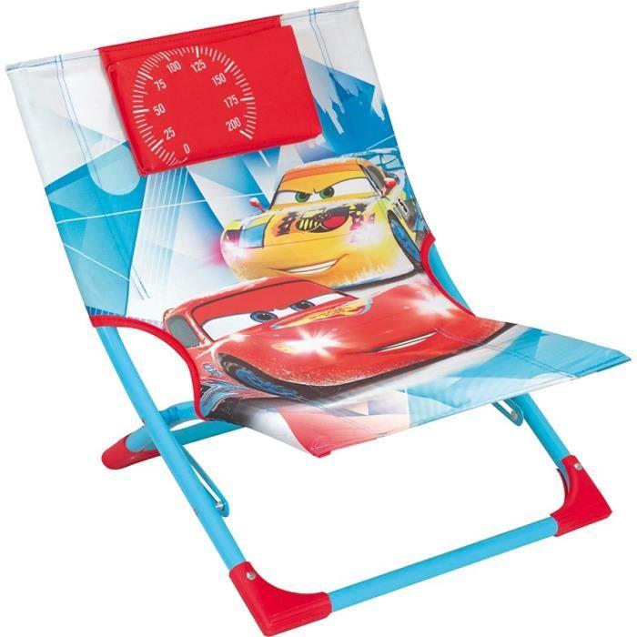 CARS - Chaise longue enfant