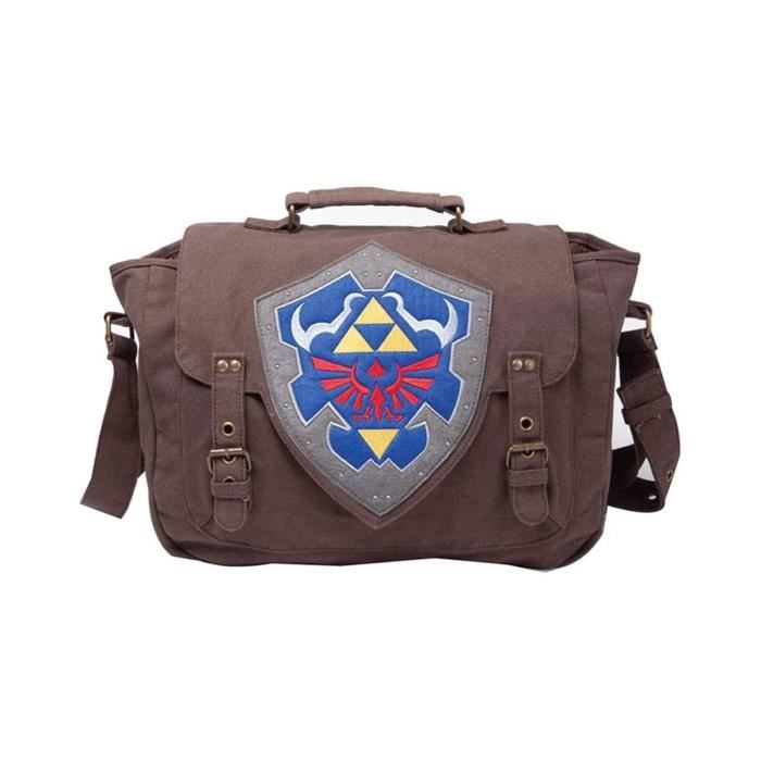 Of The Zelda Bandoulière Sac Shield Hylian À Bioworld Legend ZkOXTPiu