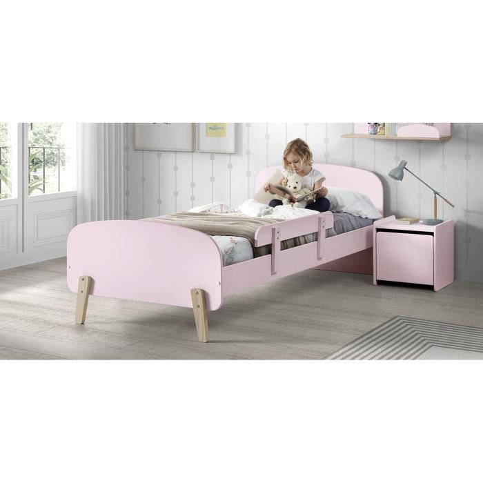 Charmant STRUCTURE DE LIT KIDDY Chambre Enfant Complète Style Scandinave En