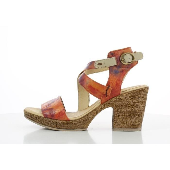 Sandale - Nu-Pieds - Bertuchi - JAUNTIF