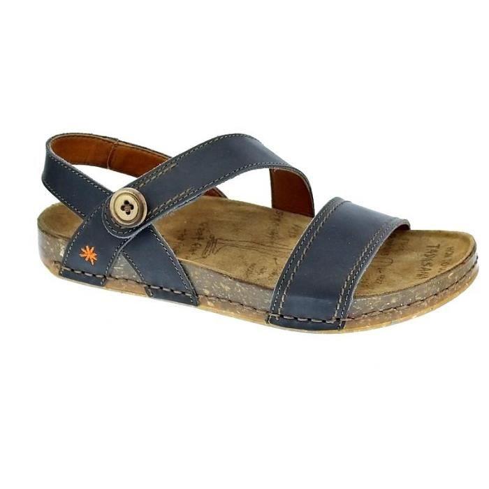 917da957113c4c Chaussures Art Company Femme Sandales modèle We Walk Noir Noir ...