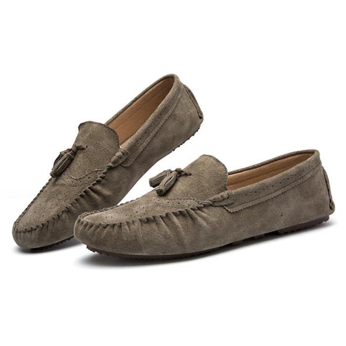 chaussures hommes Confortable Moccasins Durable Classique De Marque De Luxe 2017 Antidérapant Poids Léger Grande Taille 6w8TbpPds