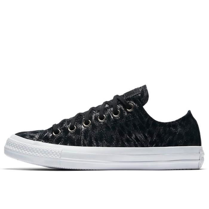 CHUCK TAYLOR ALL STAR SHIMMER SUEDE LOW