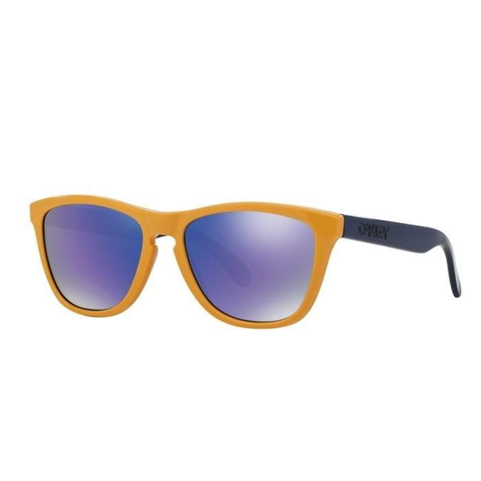 Lunette de soleil oakley jaune - Achat   Vente pas cher 9443b981ec4f