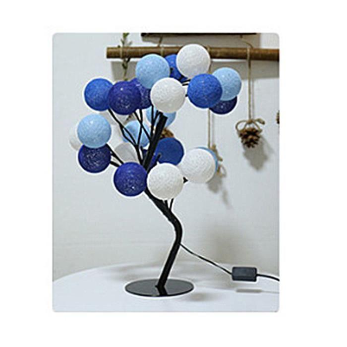 lampes de table Forme d\'arbre Lampe de table Lampe Double 24 tête ...