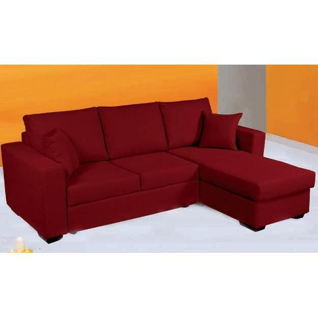 canap d 39 angle convertible en lit paris tissu achat. Black Bedroom Furniture Sets. Home Design Ideas