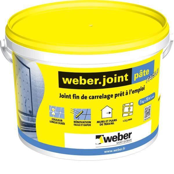 Weber Joint Carrelage Pâte Pour Mur Et Plan De Travail Weberjoint