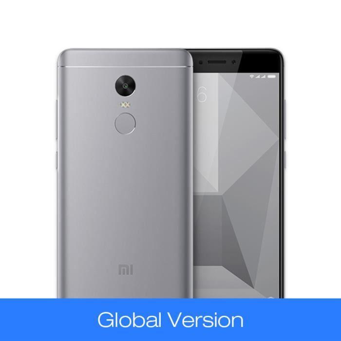 Téléphone portable Mondial Version Xiaomi GRIS Redmi Note4 3GB 32GB R