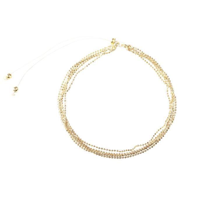 Bracelet Colette doré