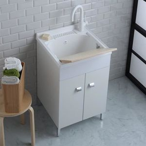 Buandrie achat vente buandrie pas cher cdiscount for Meuble 50x50
