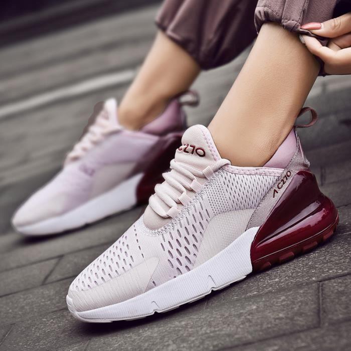 Baskets De Poids Femme Course Violet Chaussures Respirant Léger TFJc1lK