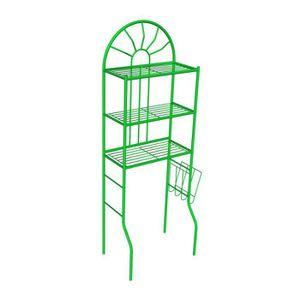 COLONNE - ARMOIRE WC MSK 25 Pont wc métallique vert Ral 6018