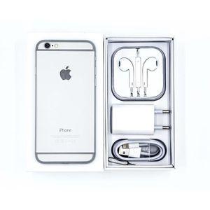 SMARTPHONE iPhone 6 64 Go - Argenté + 1 boîte et accessoires