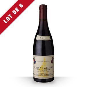 VIN ROUGE 6X Domaine Remoriquet 2014 Rouge 75cl AOC Nuits-Sa