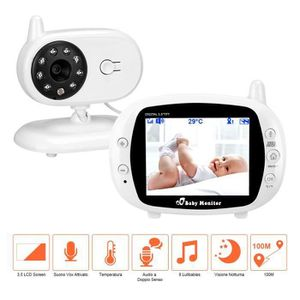 ÉCOUTE BÉBÉ BabyPhone Vidéo Sans fil Multifonctions 3.5