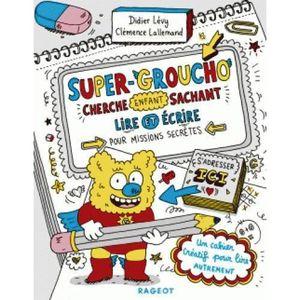 LIVRE 0-3 ANS ÉVEIL Livre - Super-Groucho cherche enfant sachant lire