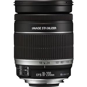 OBJECTIF Canon EF-S 18-200mm f-3.5-5.6 IS Objectif