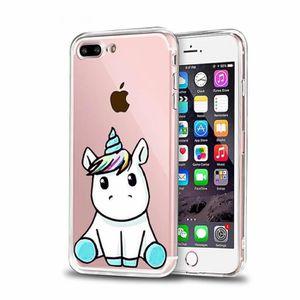 coque iphone 7 plus licorne 3d