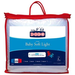 COUETTE Couette baby soft light anti-acariens 75-120