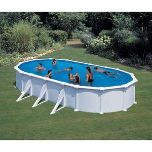 piscine acier ovale pas cher