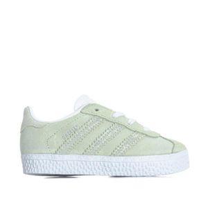 BASKET Baskets adidas Originals Gazelle pour bébé en vert