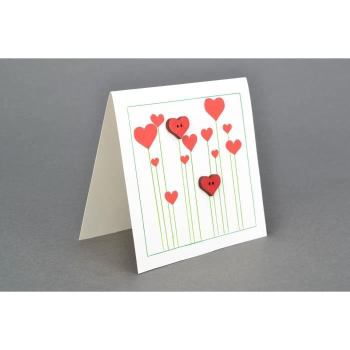 Carte Cdiscount St Valentin.Carte De Voeux Faite Main Originale Saint Valentin Achat