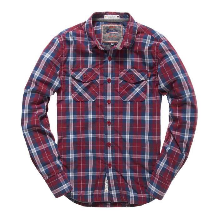 BASKET Chemises à manches longues Superdry Winter Washbas