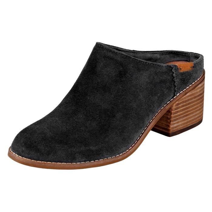 Toms Leila Mule Suede Sandal DGQ6A Taille-41