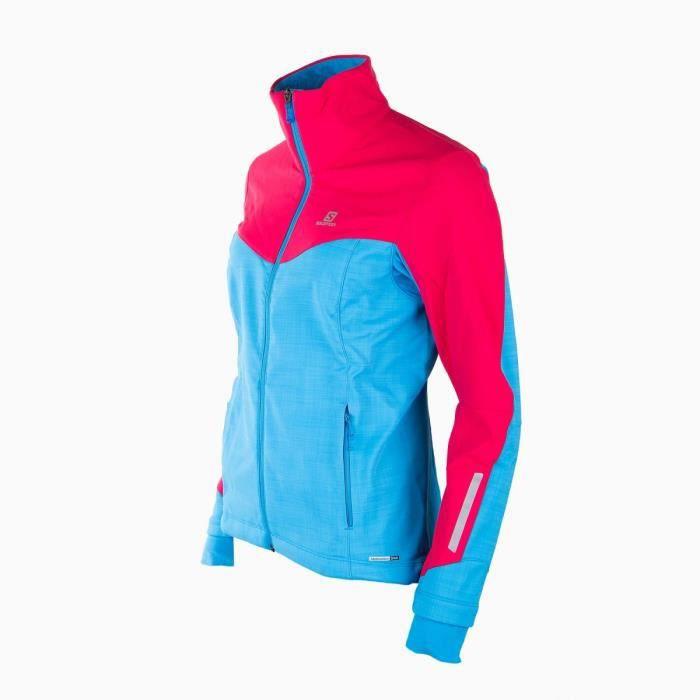 Veste de ski femme SALOMON - Couleur - BLEU, Taille Vêtement - 40 ... c98ff45687e4