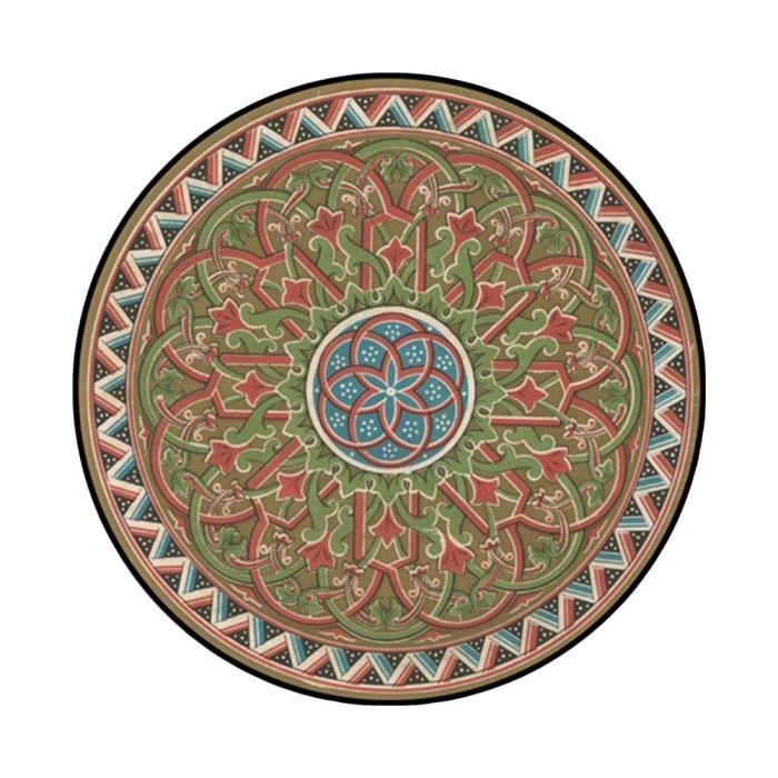 TAPIS tapis rond φ150cm tapis berbere grand tapis ethniq