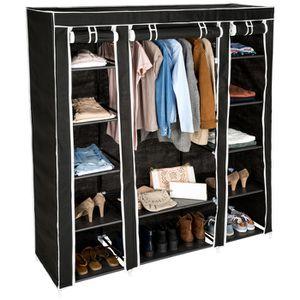 armoire rangement tissu achat vente armoire rangement. Black Bedroom Furniture Sets. Home Design Ideas