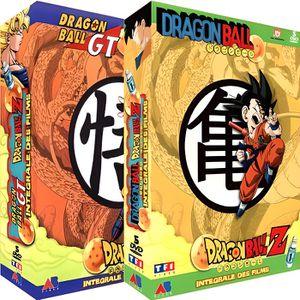 DVD MANGA DVD Coffret intégrale dragon ball Z et GT