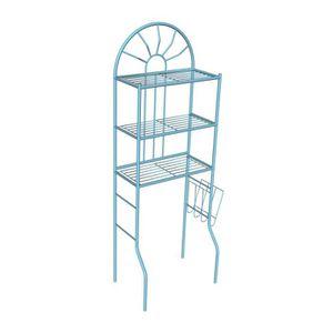 COLONNE - ARMOIRE WC MSK 25 Pont wc métallique bleu Ral 6027