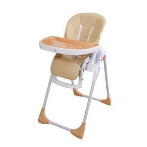 CHAISE HAUTE  Chaise haute pour bébé réglable, double plateau, e