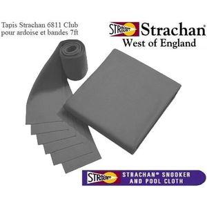 ACCESSOIRE BILLARD Tapis 6811 Strachan Pré Découpé 7ft gris