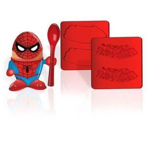 COQUETIER Coquetier et Emporte-pièces Marvel Spiderman