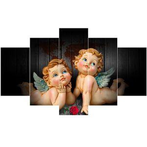 TABLEAU - TOILE Peinture décorative peintures murales - ailes d'an